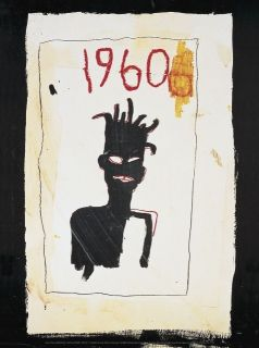 Untitled Offset Lithograph Jean Michel Basquiat