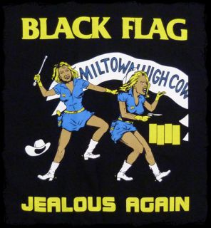 Black Flag Jealous Again T Shirt Official Fast SHIP