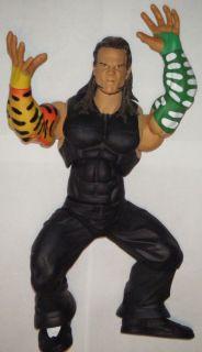 WWE Jeff Hardy Ring Giants Wrestling Action Figure Lot Jakks Giant