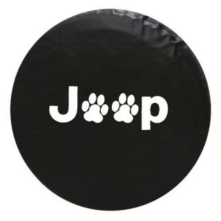 Jeep Liberty Spare Tire Cover Paw Print