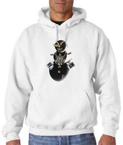 Young Jeezy Evil Snowman Hoodie USDA Hip Hop Sz s 3XL