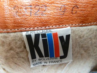 This is a pair of Vintage Jean Claude Killy by Wolverine Fur or Faux