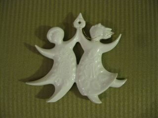 Haviland Christmas Ornament Dancing Angels Jean Jacques Prolongeau