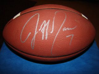 Jeff Garcia Signed Nike Football NFL Bucs 49ers Eagles