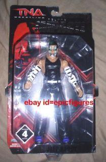 Jeff Hardy TNA Deluxe WWE Impact 4 MOC