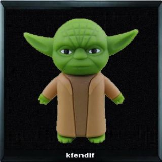 Cool Star Wars Jedi Master Yoda 4GB USB Flash Pen Drive Memory Stick