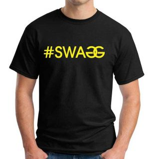 SWAGG Pauly D MTV Jersey Shore Black T Shirt