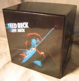 Jeff Beck Japan Mini LP 10 Title Box Set Like New