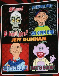 Ventriloquist Comic Jeff Dunham Walter Bubba Achmed Peanut Puppet