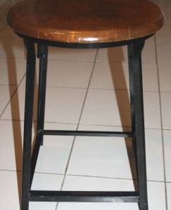 Stool Chair Standard Pressed Steel Co of Jenkintown Hallowell