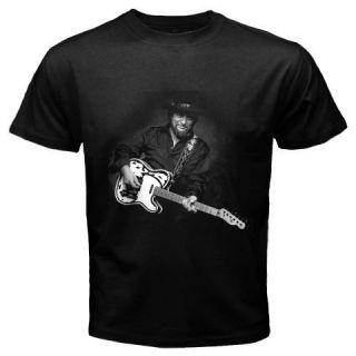 New Waylon Jennings Black T Shirt Multiple Designs s 3XL Worldwide