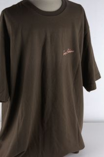 Men RELAX crew neck tee shirt with short sleeves Screen print on back