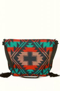 New Southwest Cherokee Indian Blanket Coat Handbag Bag