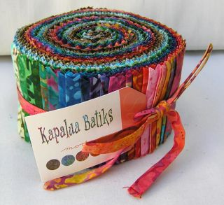 Moda Kapalua Batiks Jelly Roll 2 5 Fabric Quilting Strips