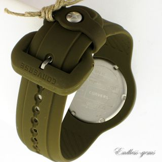 Converse Olive Green Rookie Icon Sport Mens Ladies Watch VR001 Quartz