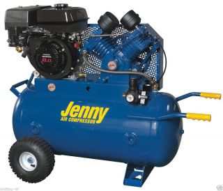 New Jenny Products Air Compressor G8HGA 30P Honda 8 HP Gas Engine 4CYL
