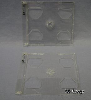 Smart Trays Inserts Double Hold 2 Discs for CD DVD Jewel Cases