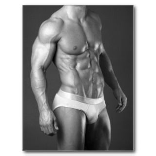 Fitness Model Poster #2 Postcards