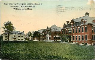 Williams College Thompson Laboratories Jesup Hall 1922 K6999