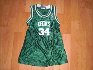 Boston Celtics NBA Basketball Jersey Dress Pierce 34 Girls Toddlers 3T