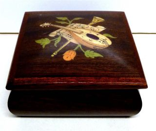 Wooden Sorrento Jewelry Box Made in Italy