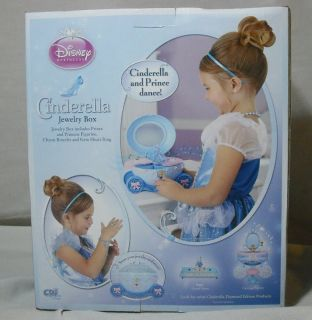Princess Cinderella Jewelry Box Musical Figurines Jewelry Included