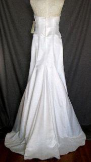 Jessica McClintock Ivory Beaded Mermaid Wedding Gown Size 4