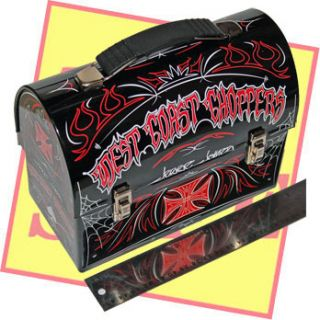 Jesse James West Coast Choppers Mac Tools Lunch Box