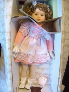 The Ashton Drake Galleries Rose Marie Porcelain Doll Brand New