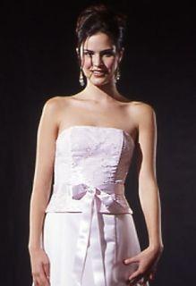 Jessica McClintock Pink Satin Sequinned Dress Size 1