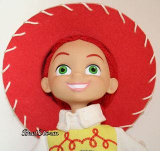 Store TOY STORY 3 COWGIRL JESSIE PLUSH Rag DOLL HARD FACE LAST 1 NWT
