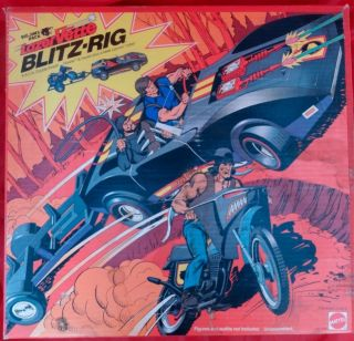 Big Jim PACK P.A.C.K. Blitz Rig Lazer Vette Howler Motorcycle In Box