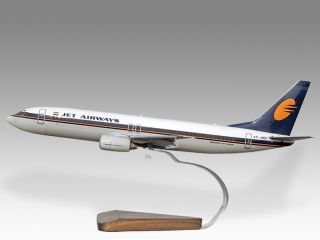 Boeing 737 800 Jet Airways Desktop Airplane Model