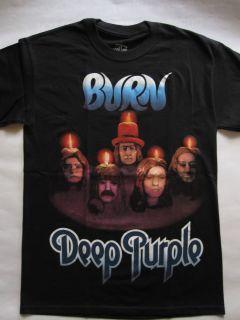 Deep Purple Burn David Coverdale T Shirt