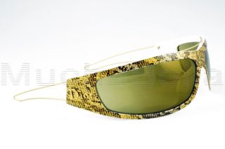 Christian Dior Sunglasses Colourfull H3XTZ Gold Python Sport