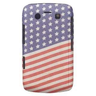 Faded Vintage Stars and Stripes American Flag Blackberry Bold Cases