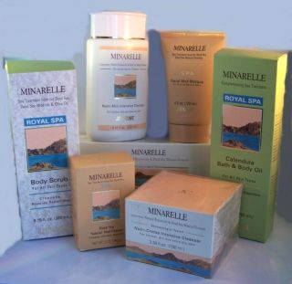 Minarelle by Montagne Jeunesse Royal Spa Dead Sea Skin Care Products