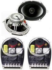JL Audio Evolution C5 570X 5x7 6x8 Car Stereo Speakers Silk Dome