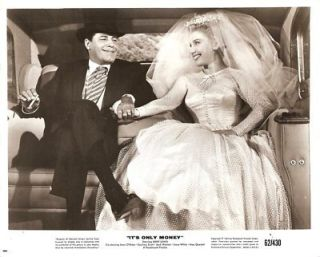 Joan OBrien Jerry Lewis Its Only Money Orig 1962