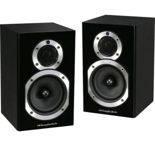 Wharfedale Diamond 10 0 Blackwood PR Bookshelf Speakers 703340283248