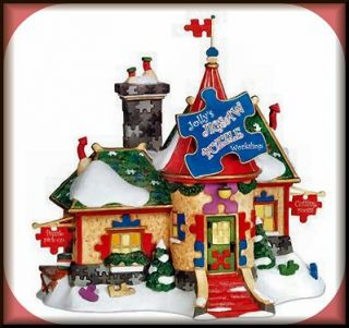 Jollys Jigsaw Puzzle Workshop NEW Department Dept. 56 North Pole