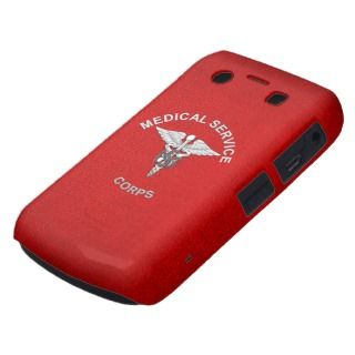 38] MS Corps Branch Insignia Blackberry Bold Case