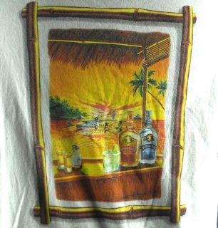 Jimmy Buffett Margaritaville Imported Tequila Seaplane Mens T Shirt
