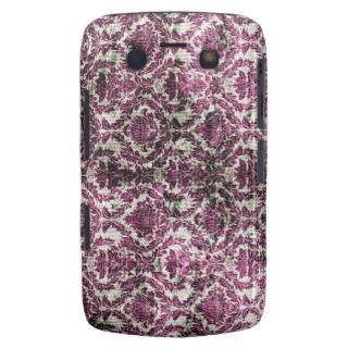 Vintage Pink and Brown Damask Pattern Background Blackberry Bold