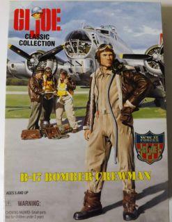 Gi Joe B 17 Bomber Crewman 12 Action Figure New in Box
