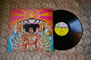 Jimi Hendrix Experience Axis Bold as Love Album