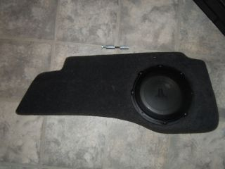 2005 2010 Jeep Grand Cherokee JL Audio Stealthbox Subwoofer