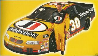 NASCAR Decal 30 Jimmy Dean 1999 Pontiac Grand Prix Derrike Cope Slixx