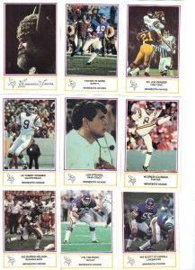 1984 Minnesota Viking Police Safety Set 18 with Jim Marshall