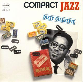 Dizzy Gillespie Compact Jazz CD James Moody Wynton Kelly Sam Jones